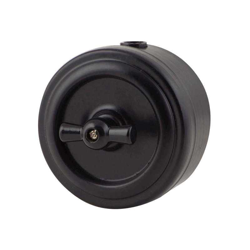 М1-11-25 Выкл 1кл, проходной черный