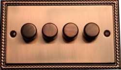 Диммер четырёхклавишный TJ Electric СМЕ2024-2-250 АС