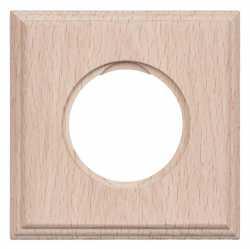 BF4-610-10 Bironi Рамка одноместная квадрат, Бук натурель