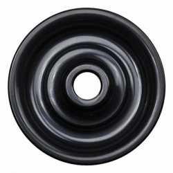В3-062-23 Bironi Накладка для выключателя, черный