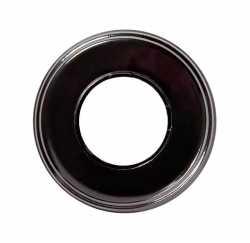 BF2-610-03 Рамка BIRONI 1-местная 100*100*12мм (черный)