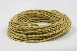 Провод витой Interior Wire 2Х2.5 (Золото шелк) арт.00313868