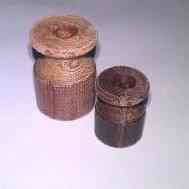 ИТ-20 Изолятор текстолит h=25 mm, d=18mm, коричневый