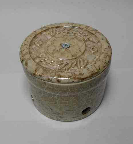 Керамическая распаечная коробка D90 H35 Villaris 2130022, цвет - Marble brown