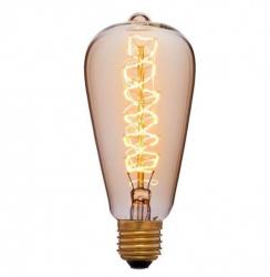 Лампа 70х150 40W 240V E27 Золотая 051-927