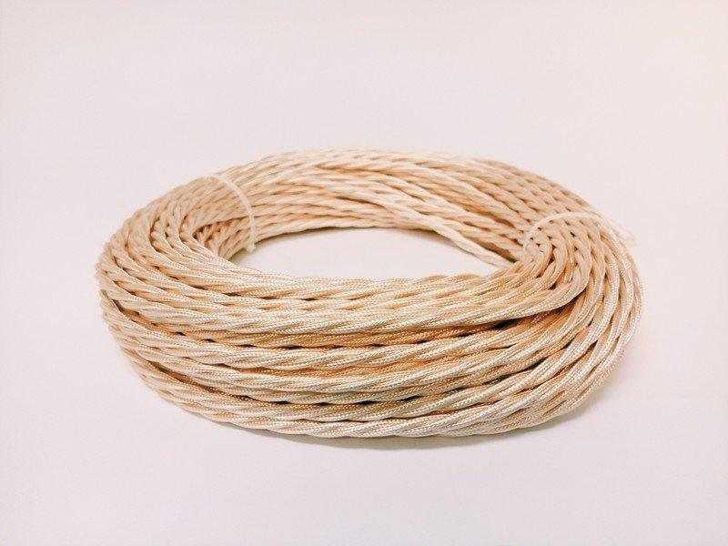 Провод круглый Interior Wire 3х1.5 (Чайная роза шелк) арт.00314017