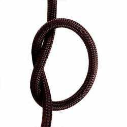Провод декоративный, круглый Villaris 1207502, 2х0,75 матерчатый ПДК, цвет - коричневый