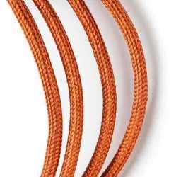 Провод декоративный, круглый Villaris 1207511, 2х0,75 матерчатый ПДК, цвет - бронза