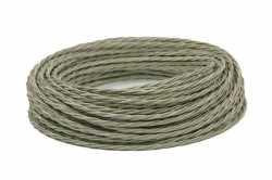 Interior Wire Провод витой ПРВ 2Х0.75 титановый шелк, , Производитель: Interior Wire, Кратность заказа: 1, Гарантия: 12 месяцев, Тип изделия: Провод, Цвет: Титан, Сечение: 1,5, Количество жил: 2, Единицы измерения: метры, Артикул производителя: ПРВ2075-К03, Материал корпуса: ПРВ, Тип монтажа: Открытый, Страна: Россия