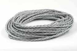 Провод витой Interior Wire 2Х1.5 (серебристый шелк) арт.00313967