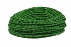 Провод витой Interior Wire 3Х1.5 (зеленый шелк) арт.00313862