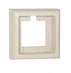 Рамка 3-ная Villaris-Simon, серия Plump, 7323013, цвет - слоновая кость