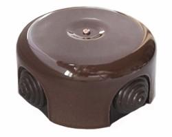 Распределительная коробка коричневая 78x43 арт.РКК-Б