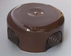 RR-09002 распаечная коробка коричневая, D-90, , Цвет: Коричневый, Производитель: Retrika