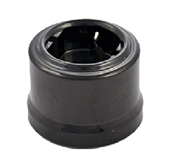 Розетка с заземл. конт., черный Retrika арт. RS-80008