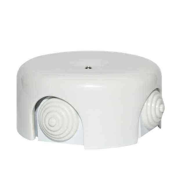 BOX3WT Распаечная коробка BOX3 большая D95, белый