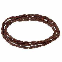 CHO 3*0.75 Кабель плетеный сечение 3*0.75, шоколад 1м.