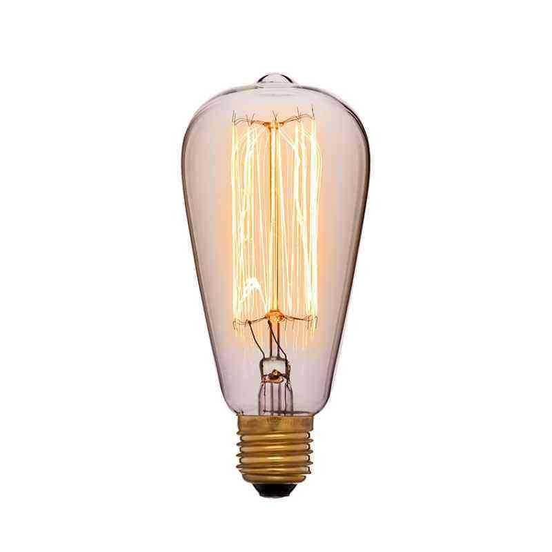Лампа 64х142 40W 240V E27 Золотая 051-910a