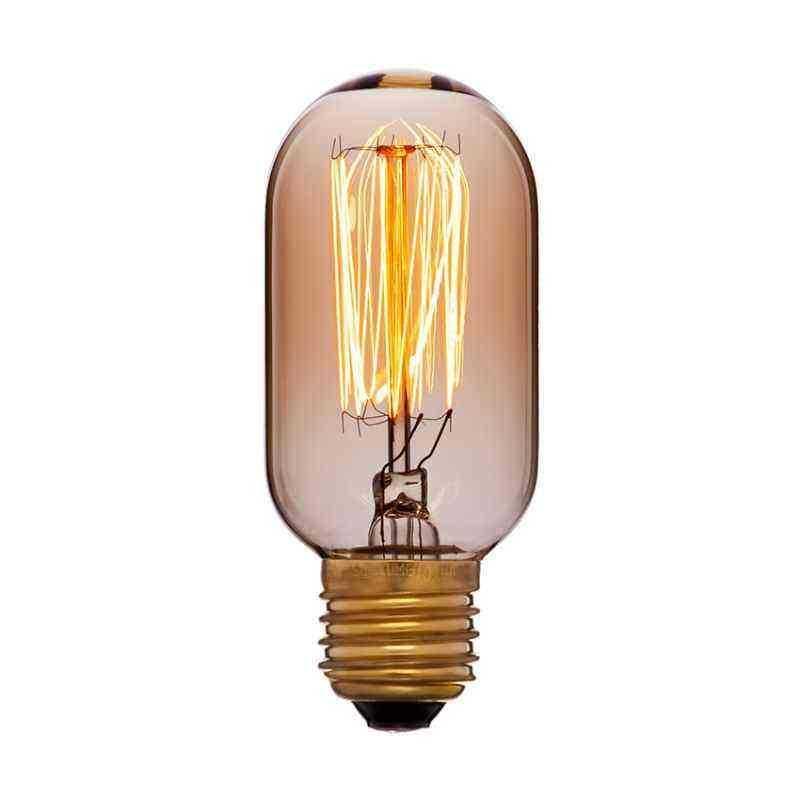 Лампа 45x102 40W 240V E27 Золотая 051-934