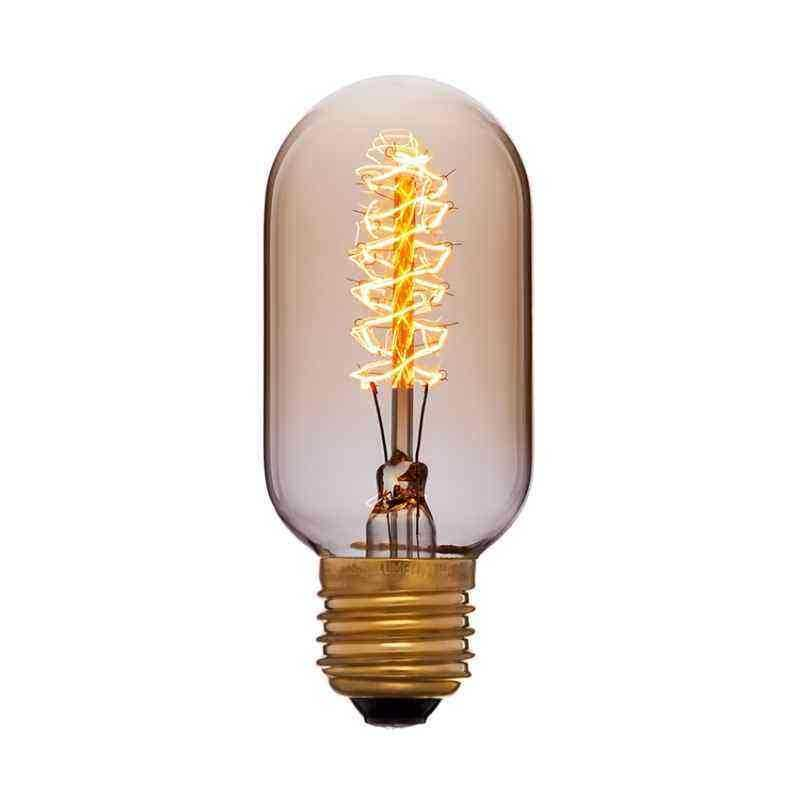 Лампа 45x102 40W 240V E27 Золотая 051-941