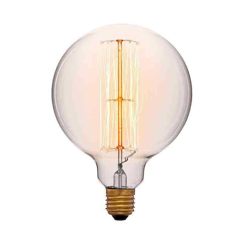 Лампа 125x172 40W 240V E27 Золотая 052-023