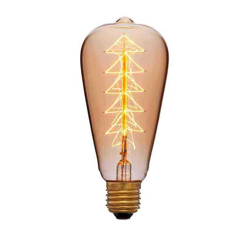 Лампа 64х142 40W 240V E27 Золотая 053-518