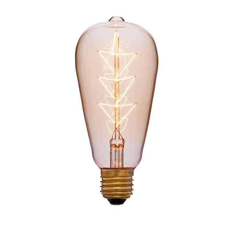 Лампа 64х142 40W 240V E27 Золотая 053-556