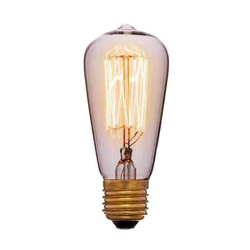Лампа 48х115 60W 240V E27 Золотая 053-600