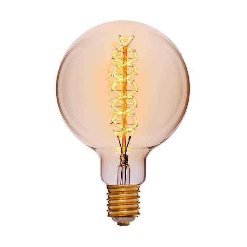Лампа Эдисона Лофт 150х225 95W 240V E40 Золотая 053-693