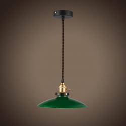 Светильник D260 E27 Зеленый 057-943