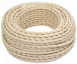 В1-426-719 Bironi Коаксиальный кабель 1*1, «песочное золото» 1 м.