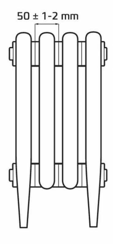 Радиатор Verdun Retrostyle 270