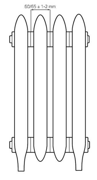 Радиатор York Retrostyle 400