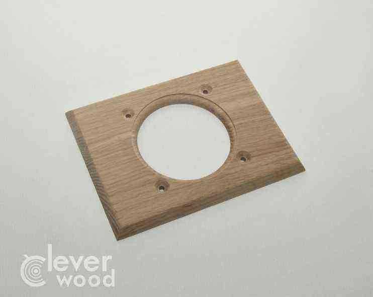 Внутренний монтаж. Сдвоенная накладка Cleverwood ПВМ-0.11.128*95.0 (плоские)15.Я