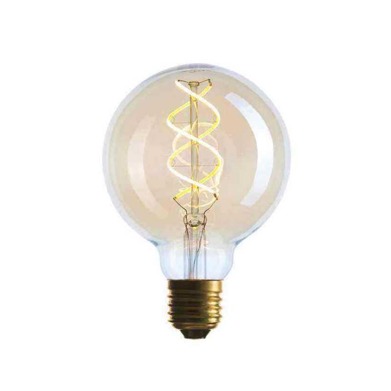Лампа G95 LED 5W SF-8, Golden, IC, E27 056-939
