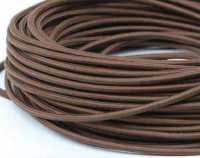 Interior Wire Провод однажильный ПВХ, в полиэфирной оплетке, ПДК 2х1.5 шоколад