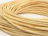 Interior Wire Провод однажильный ПВХ, в полиэфирной оплетке, ПДК 2х1.5 Золото шелк